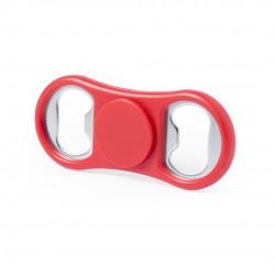 Fidget Spinner Abridor Slack Rojo