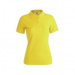Polo Mujer Color Keya Wps180 Amarillo