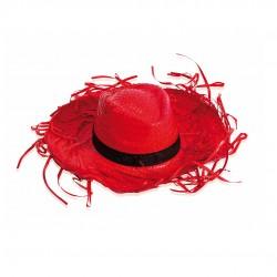 Sombrero Filagarchado Rojo