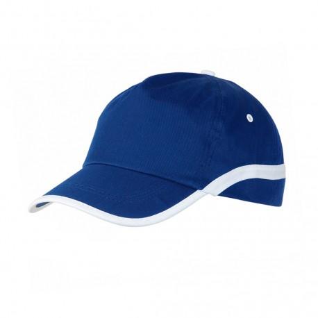 Gorra Line Azul/Blanco