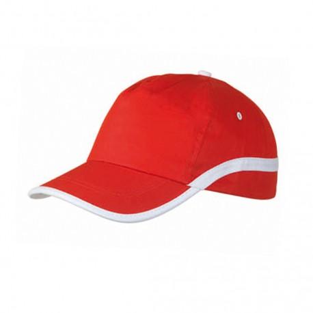 Gorra Line Rojo/Blanco