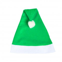 Gorro Papa Noel Verde