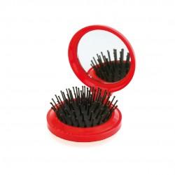 Cepillo con Espejo Glance Rojo