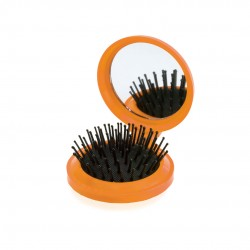 Cepillo con Espejo Glance Naranja