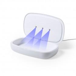 Caja Esterilizadora UV Cargador Halby Blanco