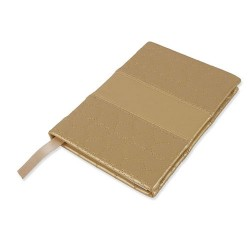 Notebook Corazon Oro
