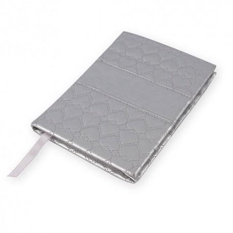 Notebook Corazon Plata