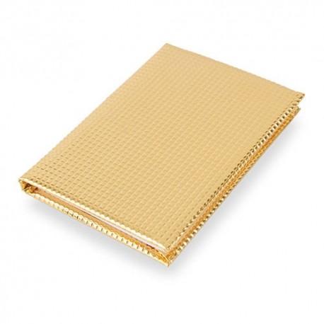 Notebook Metalic Oro