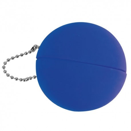 Monedero Caucho Azul