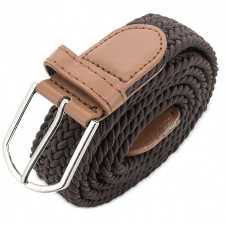 Cinturon Elastico Marron