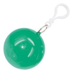 Poncho Lluvia Plegable Verde