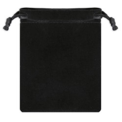 Bolsa De Antelina Negra