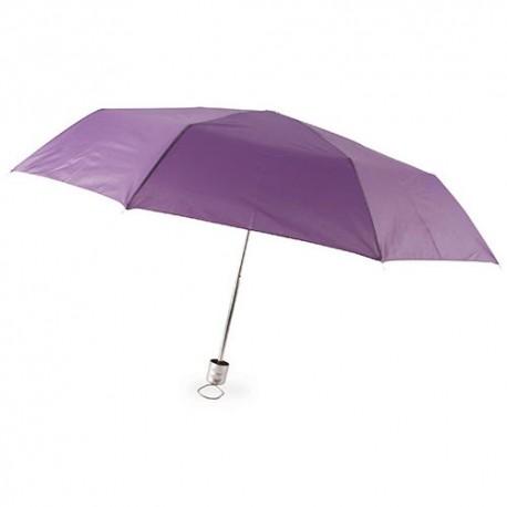 Paraguas Plegable Cromo Lila