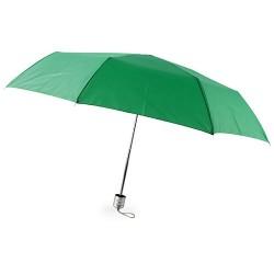 Paraguas Plegable Cromo Verde