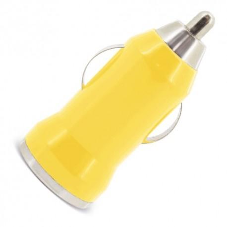 Cargador De Coche Usb Amarillo