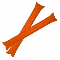 Pares Palos Inflado Pajilla Naranja