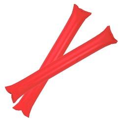 Pares Palos Inflado Pajilla Rojo