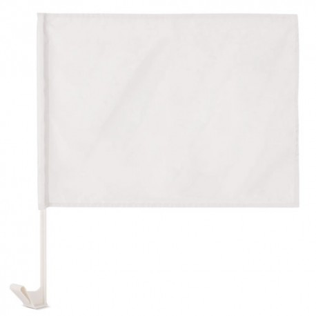 Bandera Coche Blanca
