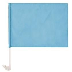 Bandera Coche Celeste