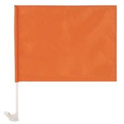 Bandera Coche Naranja
