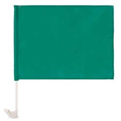 Bandera Coche Verde