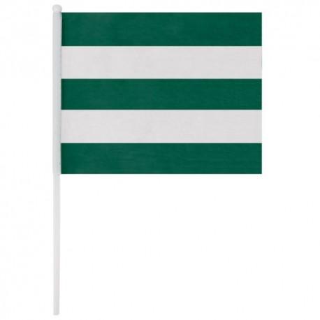 Banderin Blanco Verde