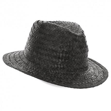 Sombrero Paja Capo Negro