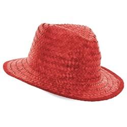 Sombrero Paja Capo Rojo