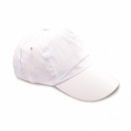 Gorra 100% Algodon Velcro Bl