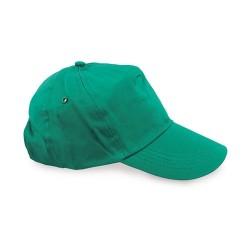 Gorra 100% Algodon Velcro Ve