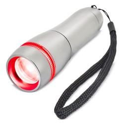 Linterna Zoom Con Led Roja