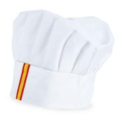 Gorro Cocinero Bandera Blanco