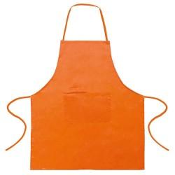 Delantal 100% Algodon Naranja