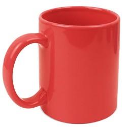 Mug Ceramica Roja