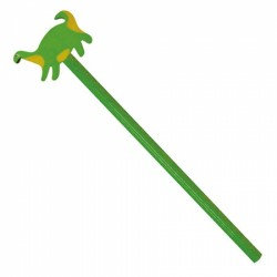 Lapiz Madera Dinosaurio