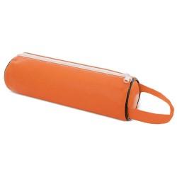 Estuche Lapices Polipiel Naranja