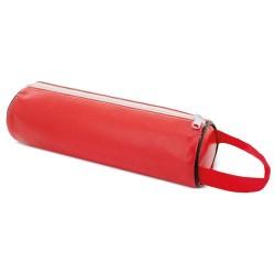 Estuche Lapices Polipiel Rojo