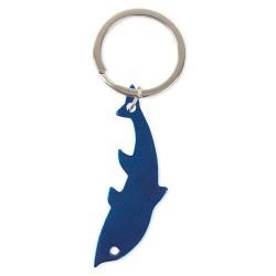 Llavero Aluminio Delfin Azul