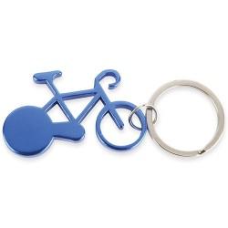 Llavero Aluminio Bike Azul