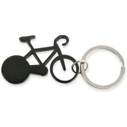 Llavero Aluminio Bike Negro