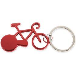 Llavero Aluminio Bike Rojo