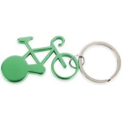 Llavero Aluminio Bike Verde