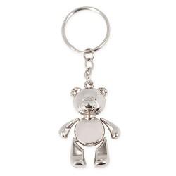 Llavero Metalico Teddy