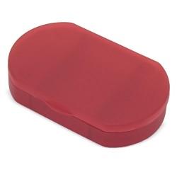 Pastillero De Bolsillo Rojo
