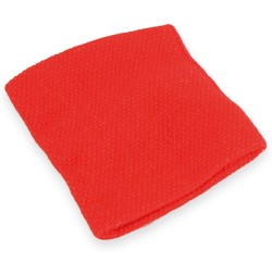 Muñequera Roja