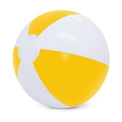 Balon De Playa Blanco/Amarillo