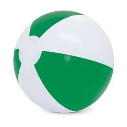Balon De Playa Blanco/Verde