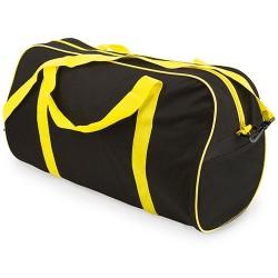Bolsa Deporte Gran Capacidad Negro/Amarillo