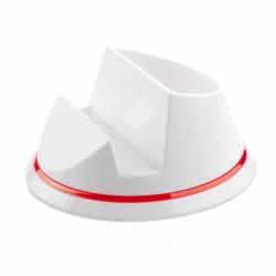 Soporte Polux Blanco/Rojo