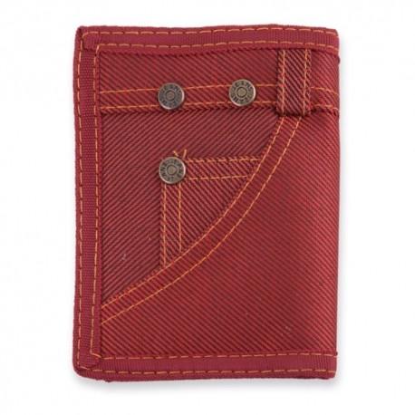 Cartera Jeans Rojo